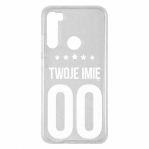 Xiaomi Redmi Note 8 Case Your name