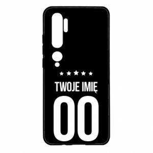 Xiaomi Mi Note 10 Case Your name