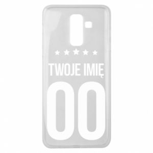 Samsung J8 2018 Case Your name