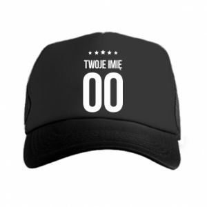 Trucker hat Your name
