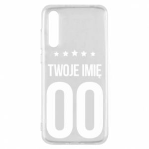 Huawei P20 Pro Case Your name