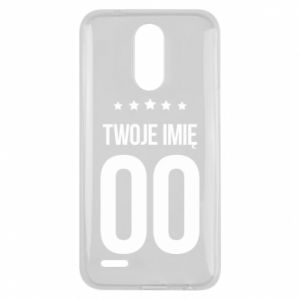 Lg K10 2017 Case Your name