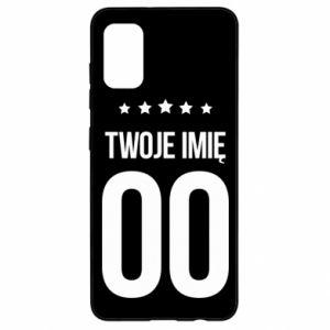 Samsung A41 Case Your name