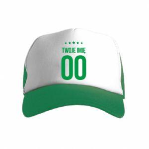 Kid's Trucker Hat Your name