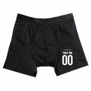 Boxer trunks Your name