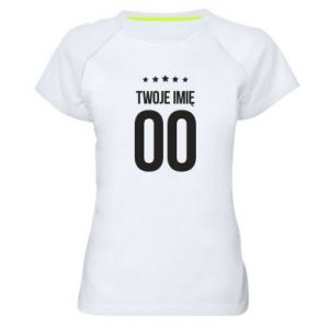 Men's sports t-shirt Your name