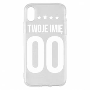 Phone case for iPhone X/Xs Your name