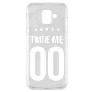 Phone case for Samsung A6 2018 Your name