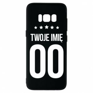 Samsung S8 Case Your name