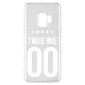 Phone case for Samsung S9 Your name