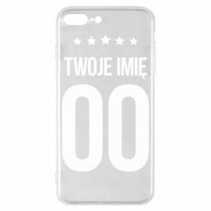 Phone case for iPhone 8 Plus Your name