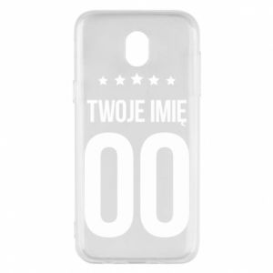 Samsung J5 2017 Case Your name