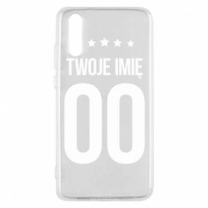 Phone case for Huawei P20 Your name