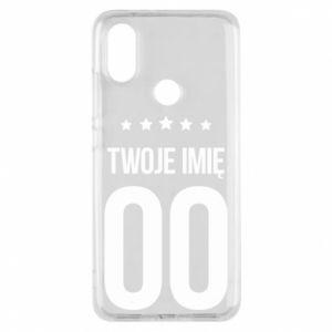 Phone case for Xiaomi Mi A2 Your name