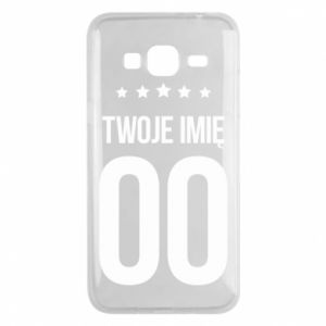 Phone case for Samsung J3 2016 Your name
