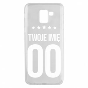 Phone case for Samsung J6 Your name