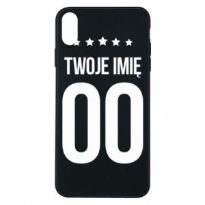 Phone case for iPhone Xs Max Your name