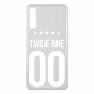 Phone case for Samsung A7 2018 Your name