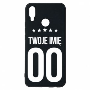 Phone case for Huawei P Smart Plus Your name