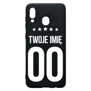 Phone case for Samsung A30 Your name