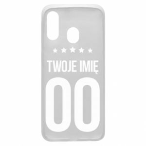 Phone case for Samsung A40 Your name
