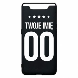 Phone case for Samsung A80 Your name