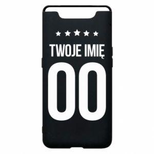 Samsung A80 Case Your name