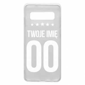 Phone case for Samsung S10 Your name