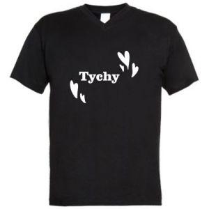 Men's V-neck t-shirt Tychy