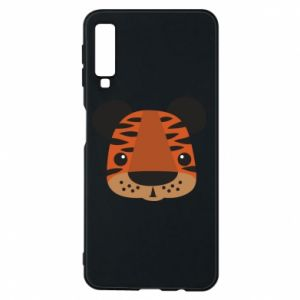 Samsung A7 2018 Case Children's print tiger