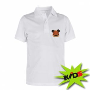 Children's Polo shirts Children's print tiger