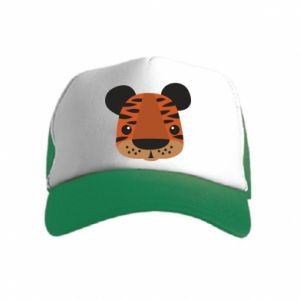 Kid's Trucker Hat Children's print tiger