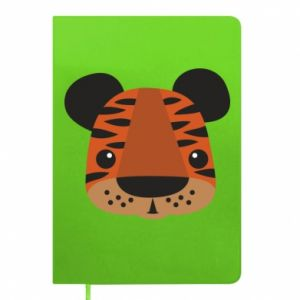 Notepad Children's print tiger