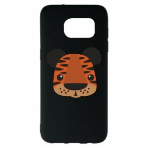Samsung S7 EDGE Case Children's print tiger