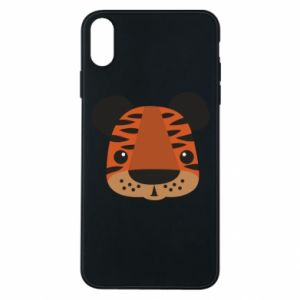 iPhone Xs Max Case Children's print tiger