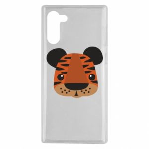 Samsung Note 10 Case Children's print tiger