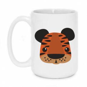 Mug 450ml Children's print tiger