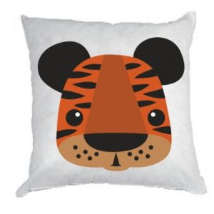 Pillow Children's print tiger