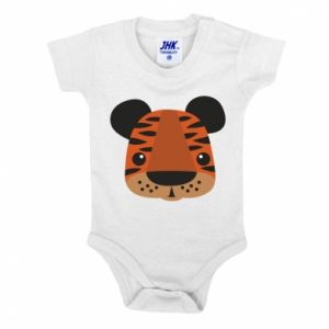 Baby bodysuit Children's print tiger