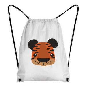 Backpack-bag Children's print tiger