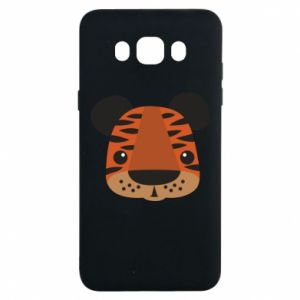 Samsung J7 2016 Case Children's print tiger