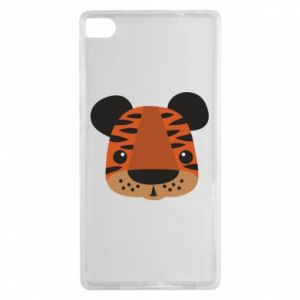 Huawei P8 Case Children's print tiger