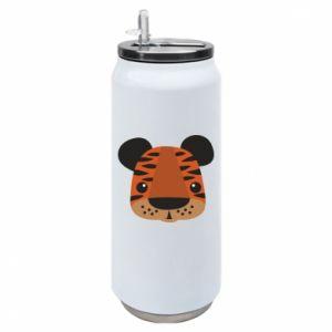 Puszka termiczna Tygrys z nadrukiem dla dzieci