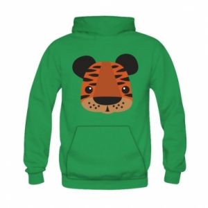 Kid's hoodie Children's print tiger