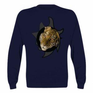 Bluza (raglan) Tygrysie oczy - PrintSalon
