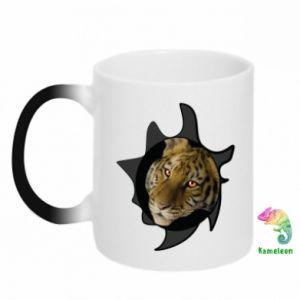 Kubek-kameleon Tygrysie oczy