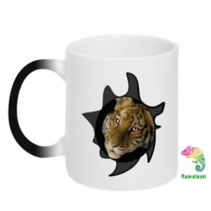 Chameleon mugs Eyes of the Tiger