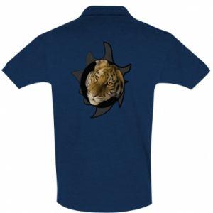 Koszulka Polo Tygrysie oczy - PrintSalon