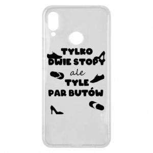 Phone case for Huawei P Smart Plus Only two feet but so many pairs of shoes - PrintSalon