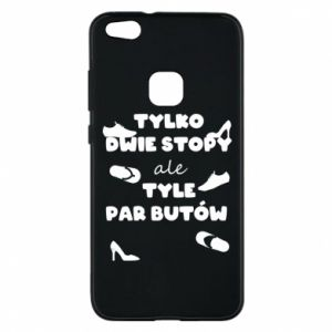Phone case for Huawei P10 Lite Only two feet but so many pairs of shoes - PrintSalon